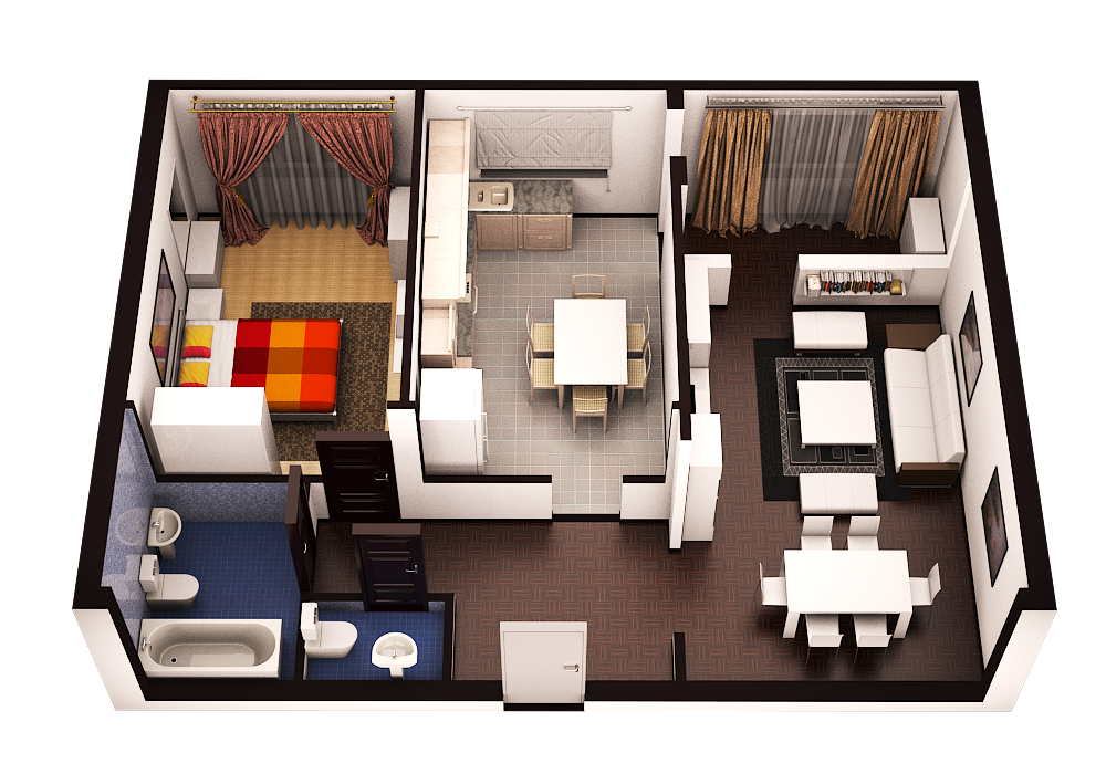Планировка квартир с
